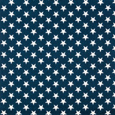 Navy Stars Duck Cloth Fabric